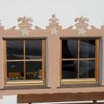 Decorazione gotica finestra