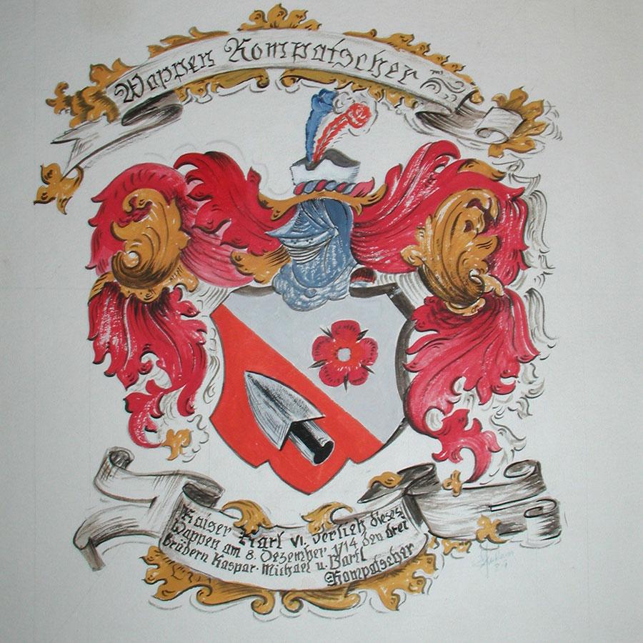Pittura di emblemi