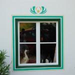 Decorazione di una finestra