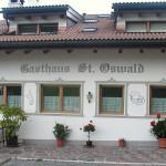 "Facciata ""Gasthaus St. Oswald"""