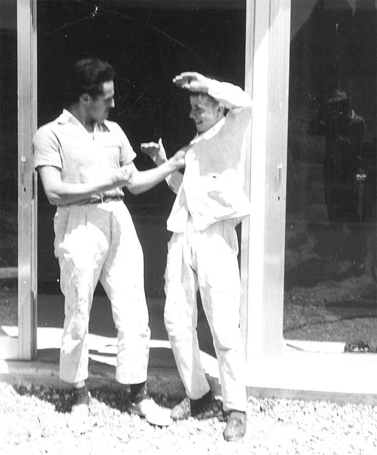 Kritzinger Ludwig mit Sohn