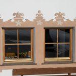 Gotische Fenstermalerei