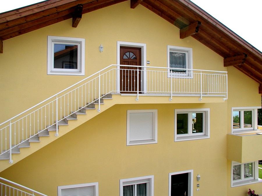 Fassadengestaltung Privathaus